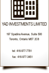 YAD Investments logo